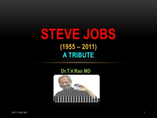 Steve Jobs a Tribute