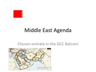 Middle East Agenda