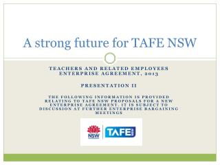 A strong future for TAFE NSW