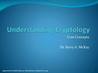 Understanding Cryptology