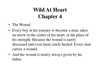 Wild At Heart  Chapter 4