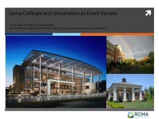 Using Colleges and Universities as Event Venues