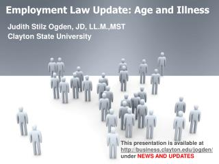 Employment Law Update: Age and Illness