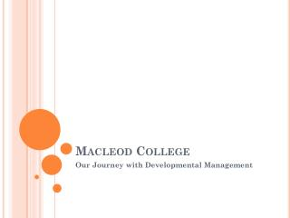 Macleod College