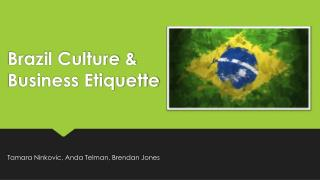 Brazil Culture & Business Etiquette