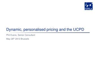 Dynamic, personalised pricing and the UCPD