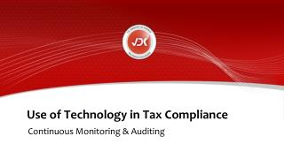 Use of Technology in Tax Compliance