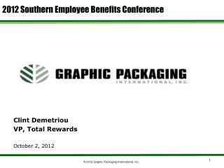 2012 Southern Employee Benefits Conference