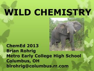 WILD CHEMISTRY