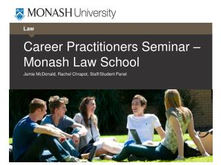 Career Practitioners Seminar – Monash Law School