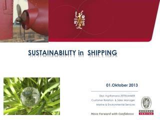 Dipl. Ing Ramona ZETTELMAIER Customer Relation & Sales Manager Marine & Environmental Services