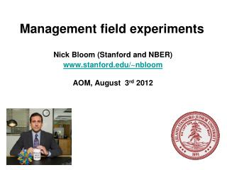 Management field experiments