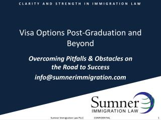 Visa Options Post-Graduation and Beyond