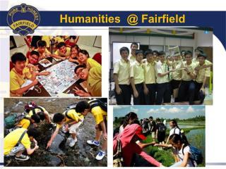 Humanities @ Fairfield