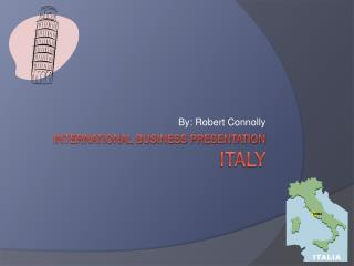 International business presentation Italy