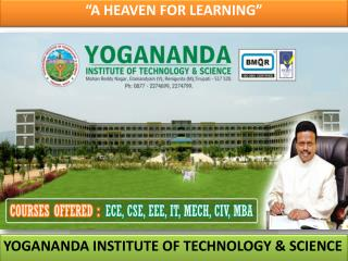 """A HEAVEN FOR LEARNING"""