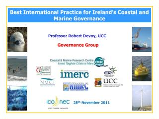 Best International Practice for Ireland's Coastal and Marine Governance