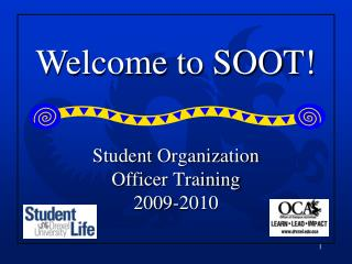 Student Organization  Officer Training  2009-2010
