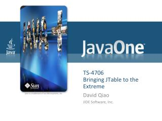TS-4706  Bringing JTable to the Extreme