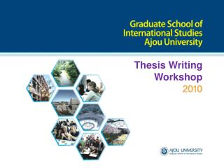 Thesis Writing  Workshop
