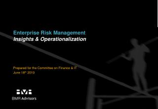 Enterprise Risk Management Insights & Operationalization