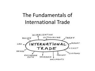 The Fundamentals of International Trade
