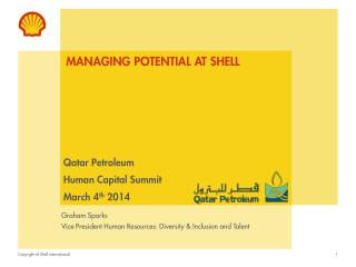 Managing potential at shell