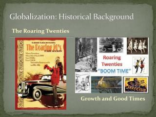 Globalization: Historical Background