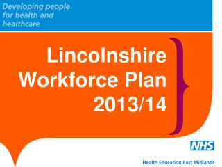 Lincolnshire Workforce Plan 2013/14