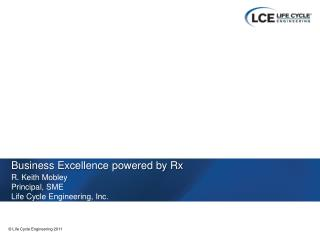 Business Excellence powered by Rx