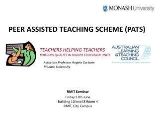 PEER ASSISTED TEACHING SCHEME (PATS)