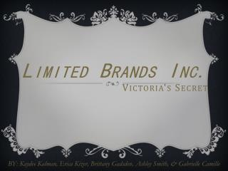 Limited Brands Inc. Victoria's Secret