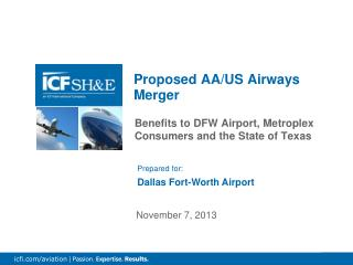 Proposed AA/US Airways Merger