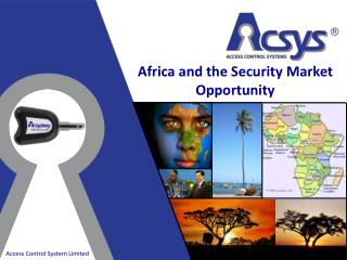 Africa and the Security Market Opportunity