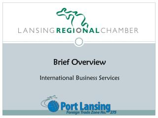 Brief Overview International Business Services