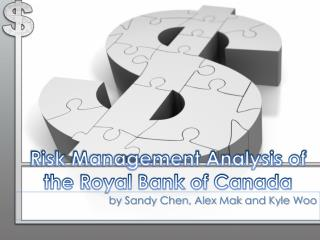Risk Management Analysis of the Royal Bank of Canada