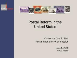 Postal Reform in the  United States