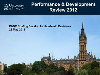 Performance & Development Review 2012
