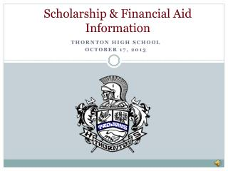 Scholarship & Financial Aid Information