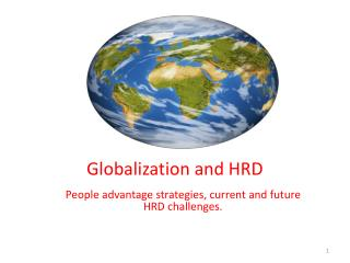 Globalization and HRD