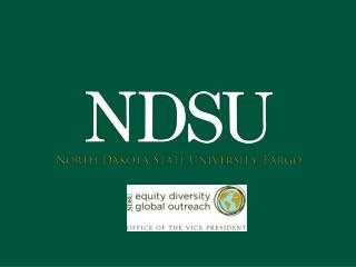 Internationalization  at NDSU