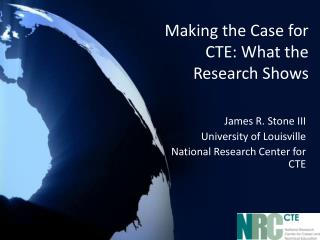 Making the Case for CTE: What the Research Shows