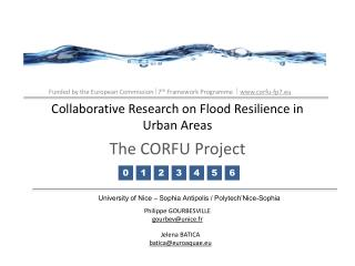 Collaborative Research on Flood Resilience in Urban Areas