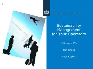 Sustainability Management  for Tour Operators