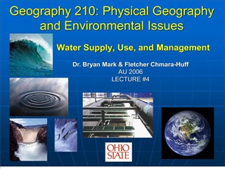 Geography 210: Physical Geography and Environmental Issues