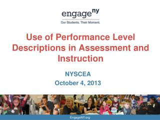 Use of Performance Level Descriptions in Assessment and Instruction