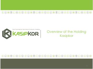 Overview of the Holding  Kasipkor