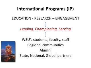 International Programs (IP)