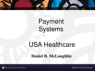 Payment Systems  USA Healthcare