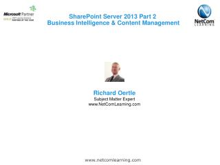 SharePoint Server 2013 Part 2  Business Intelligence & Content Management
